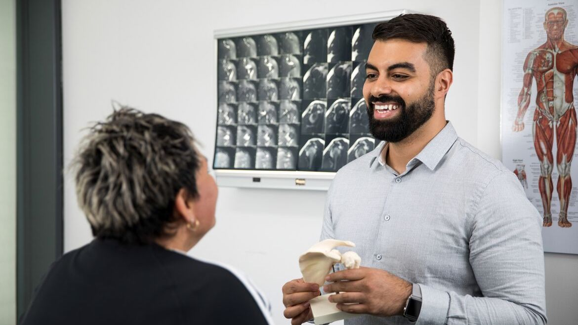 Circular Quay Physiotherapist Dr David Aboud - available at Quay Health