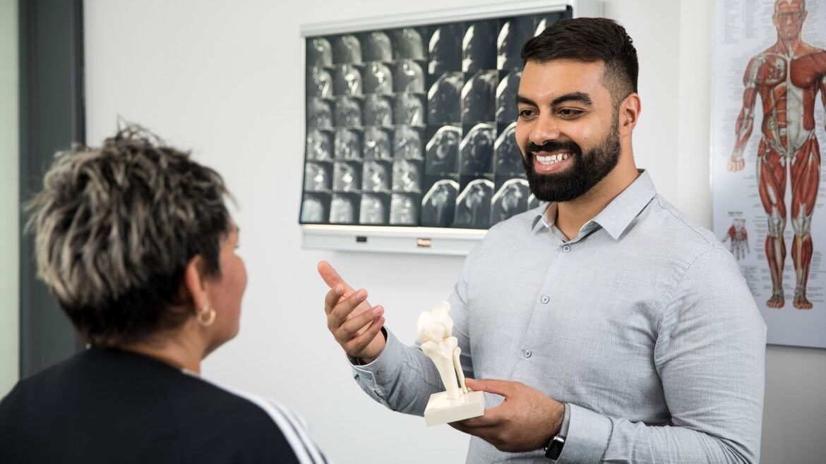Wynyard Physio Dr David Aboud - available at Quay Health