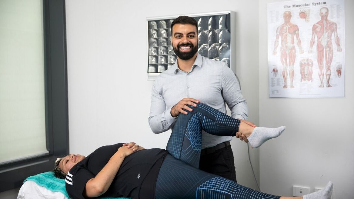 Wynyard Physiotherapist Dr David Aboud - available at Quay Health