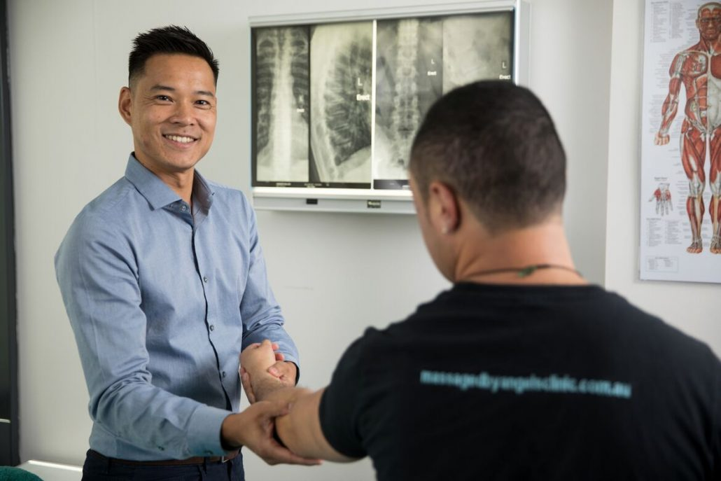 Sydney CBD Osteopaths Dr Marcus Ng, Dr David Aboud and Dr Abbey Davidson are all experienced in treating conditions of the Wrist and Forearm