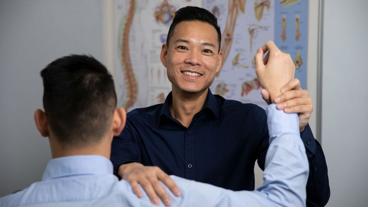 Dr Marcus Ng - Osteopath on Bridge St in the Sydney CBD