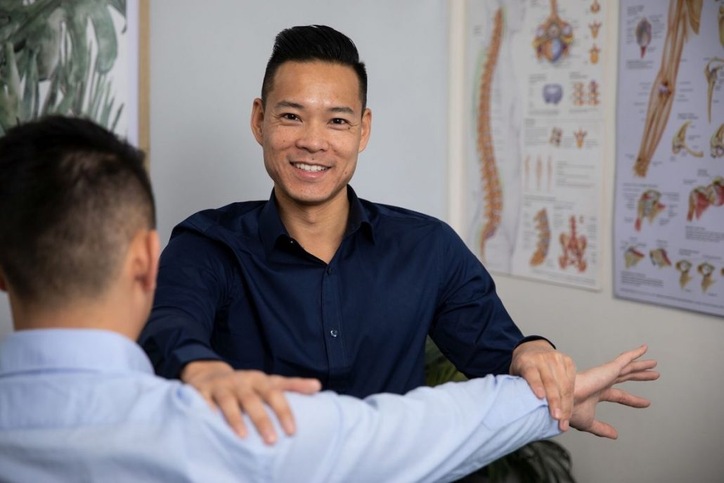 Marcus Ng osteopath talks treatment plans