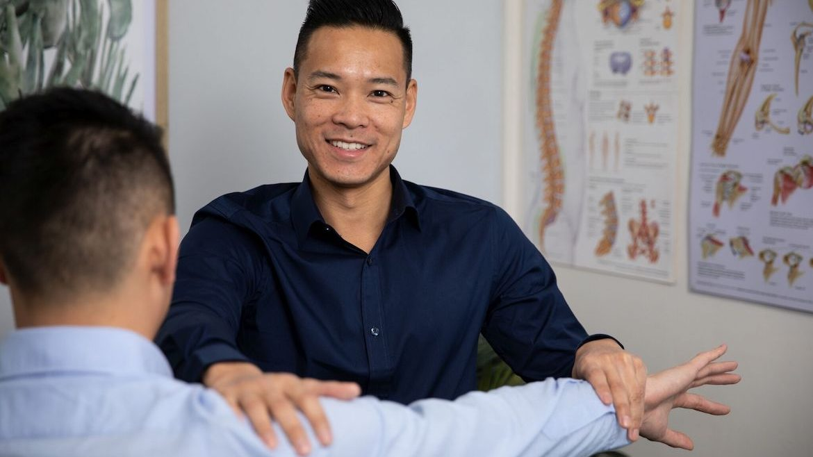 Osteopath Dr Marcus Ng