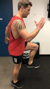 bounding exercises or sports specific movement