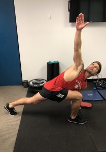 dynamic stretching exercise for warm up