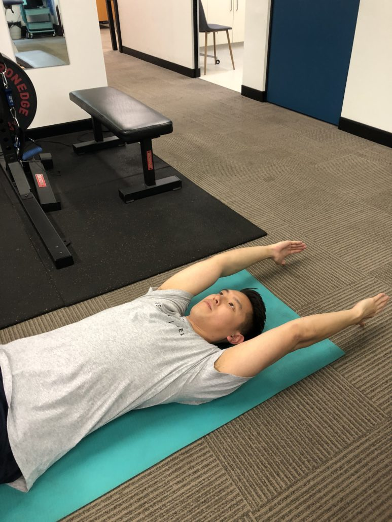 Thoracic extension test part 2