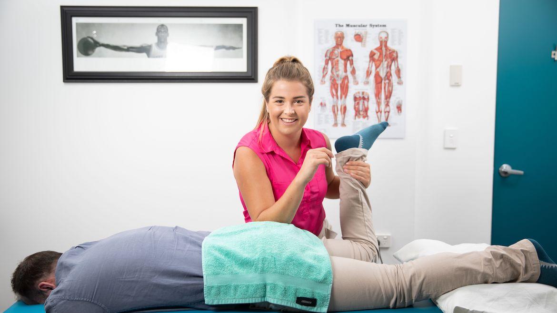 Physiotherapist Tenae Leitch Sydney CBD