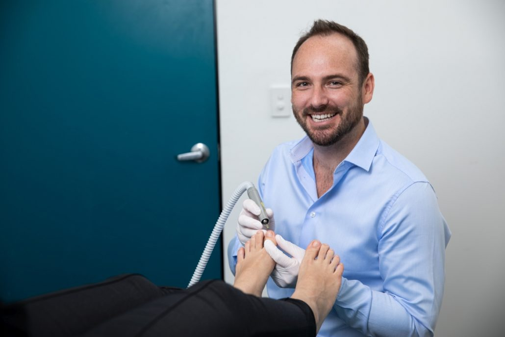 Town Hall podiatry with Dr Daniel Graham foot pain