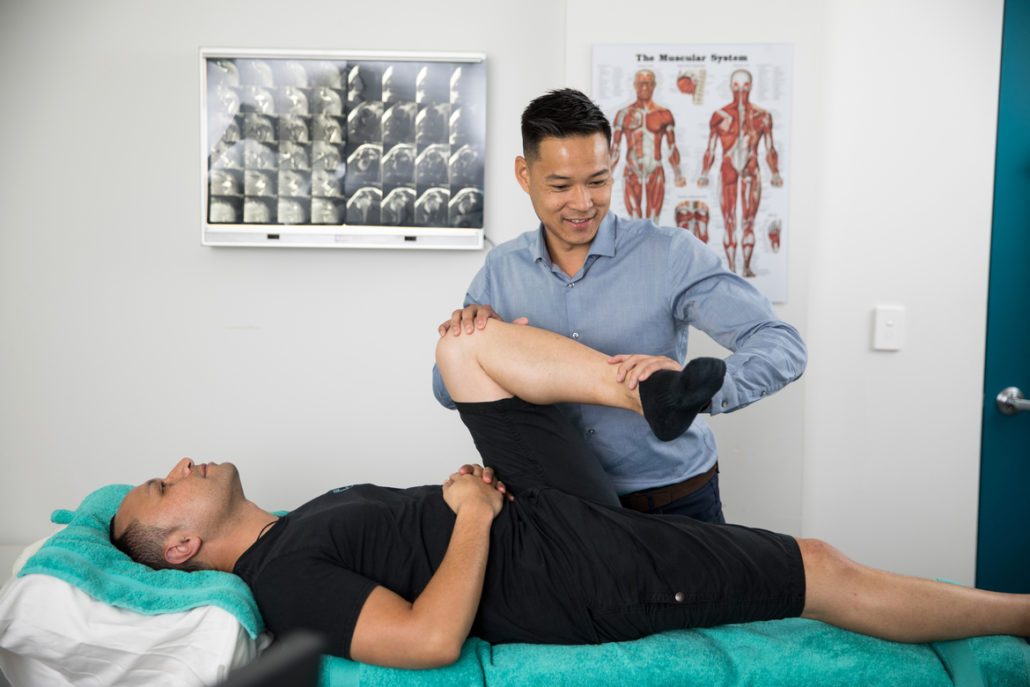 Martin Place Osteopathy with Dr Marcus Ng