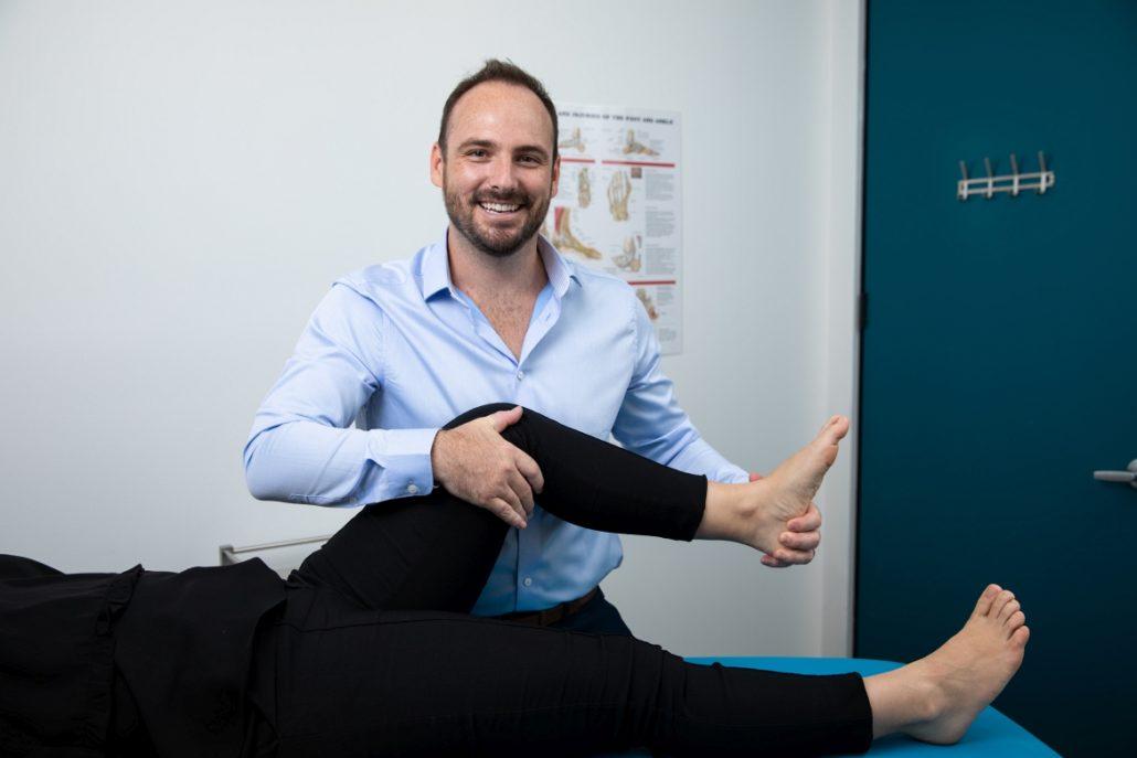 Martin Place podiatry Dr Daniel Graham knee pain