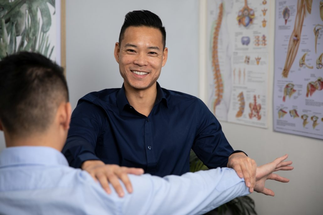 Town Hall Osteopathy with Dr Marcus Ng shoulder pain
