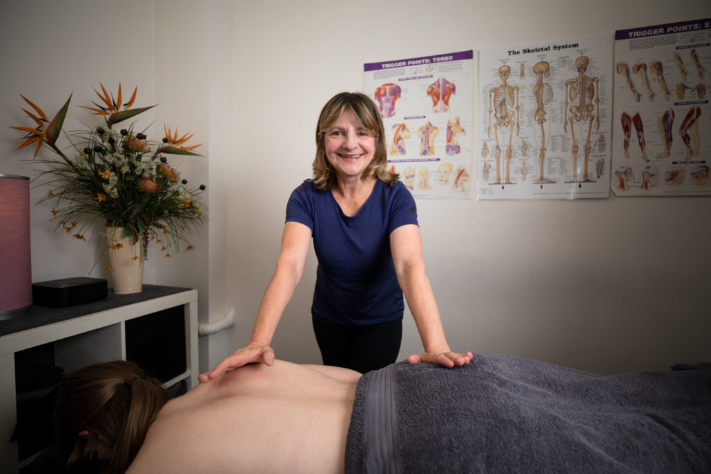 Town Hall remedial massage therapist Anna Kaminski