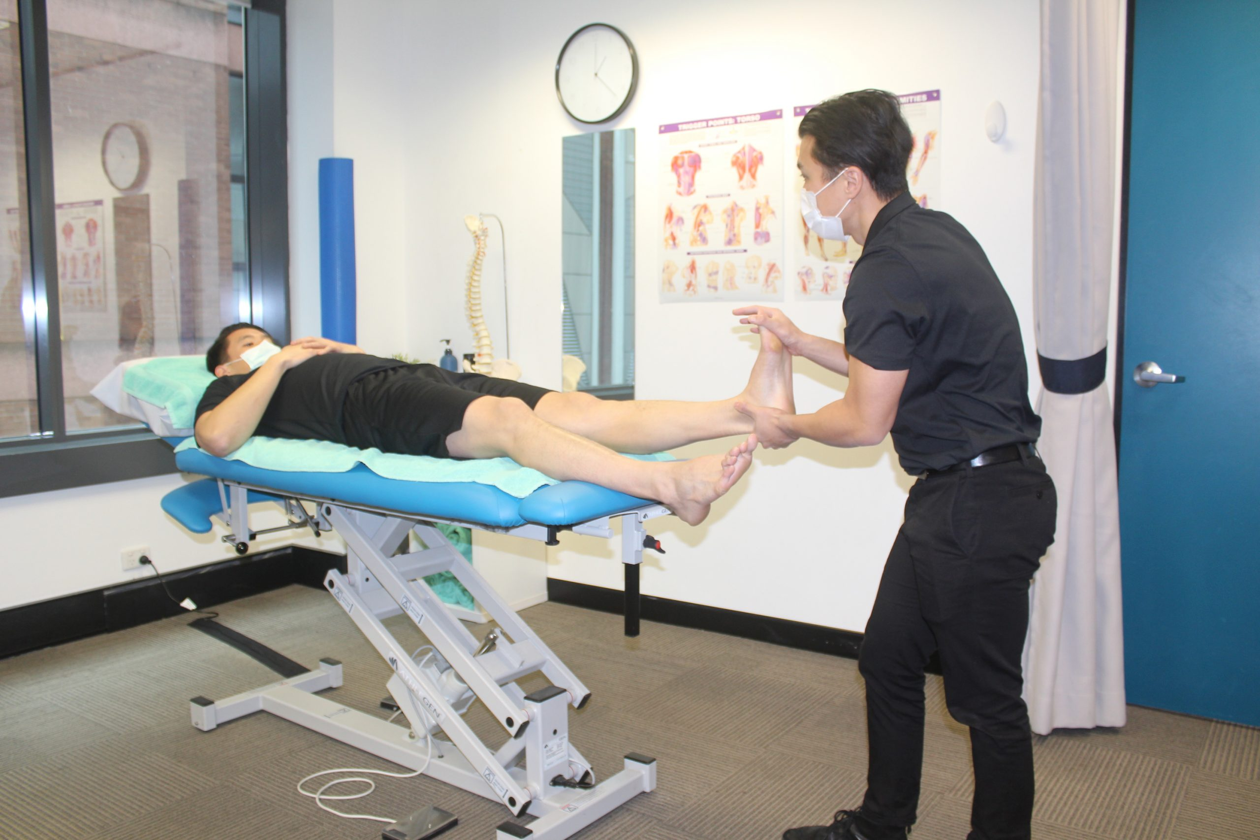Supine Ankle Assessment