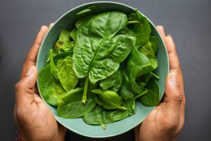 Spinach magnesium source